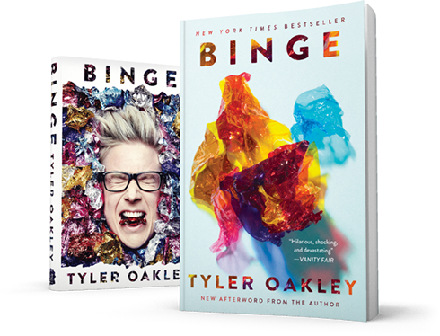 Binge by Tyler Oakley (2015, Hardcover, Autographed Copy)