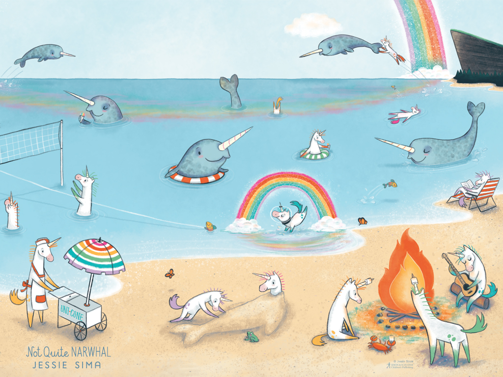 Not Quite Narwhal By Jessie Sima Resources Simon