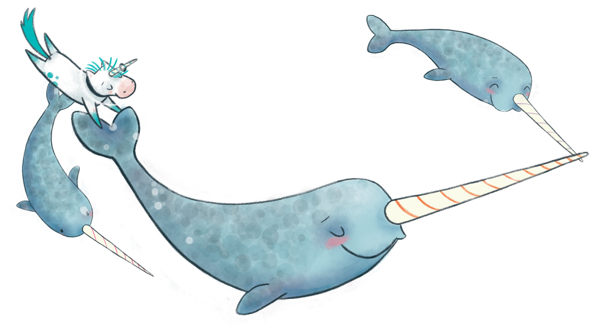 Image result for not quite narwhal